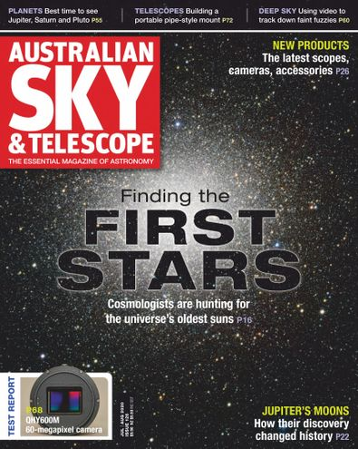 Australian Sky & Telescope digital cover