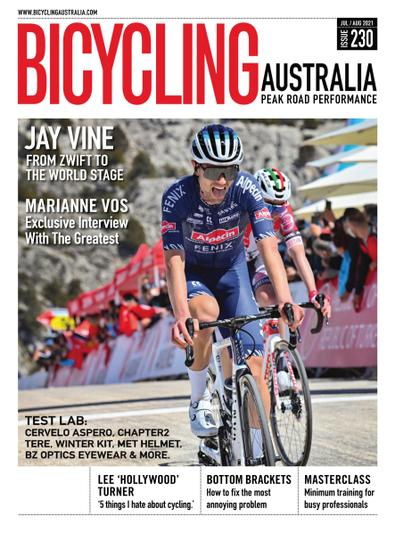 Bicycling Australia digital cover