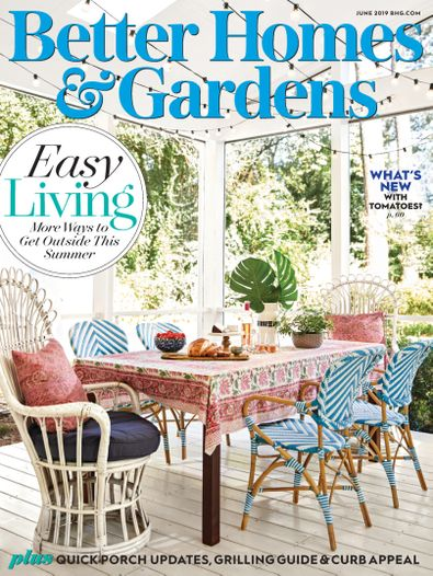 Better Homes and Gardens digital cover