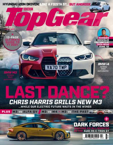 BBC Top Gear Magazine digital cover