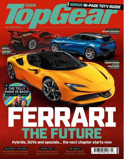 BBC Top Gear Magazine digital cover