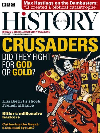 BBC History Magazine digital cover