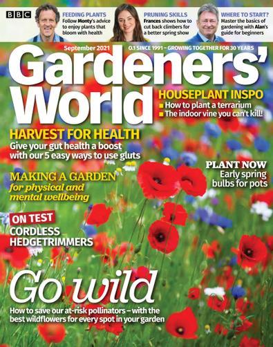 BBC Gardeners' World digital cover