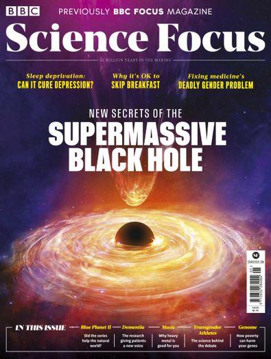 BBC Focus digital cover