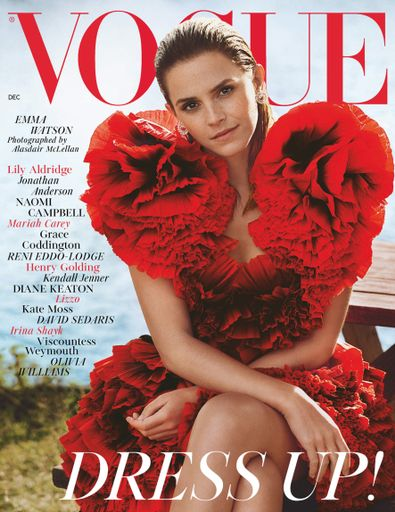 British Vogue digital cover