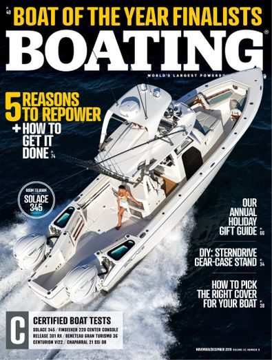 Boating digital cover