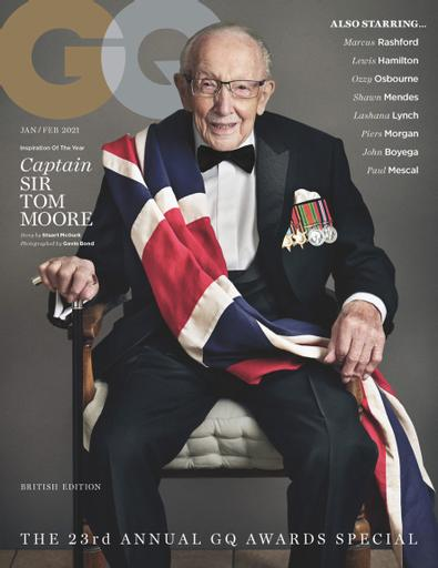 British GQ digital cover