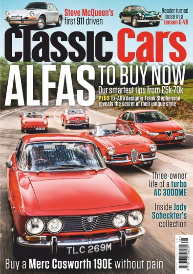 Classic Cars digital cover