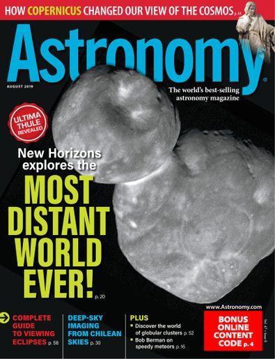 Astronomy digital cover