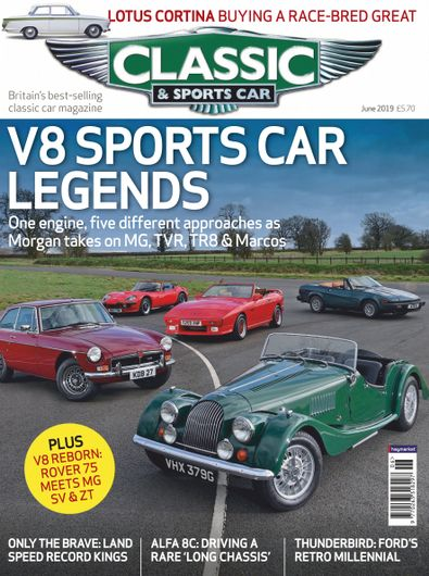 Classic & Sports Car digital cover