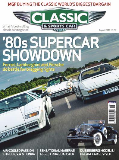 Classic & Sports Car digital cover