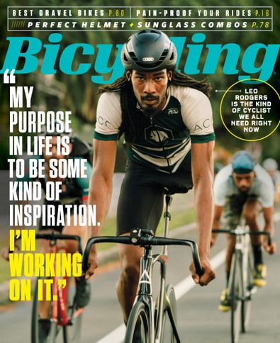 Bicycling digital cover