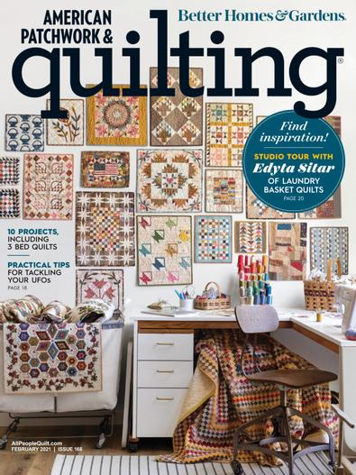 American Patchwork & Quilting digital cover