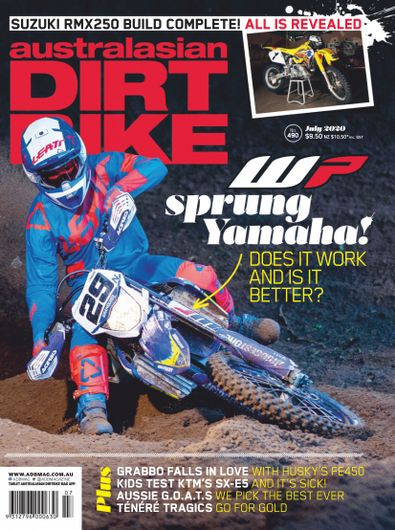Australasian Dirt Bike Magazine digital cover