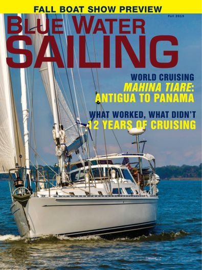 Blue Water Sailing digital cover