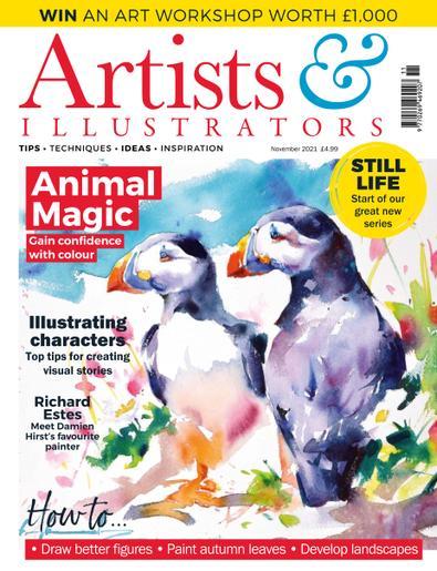 Artists & Illustrators digital cover