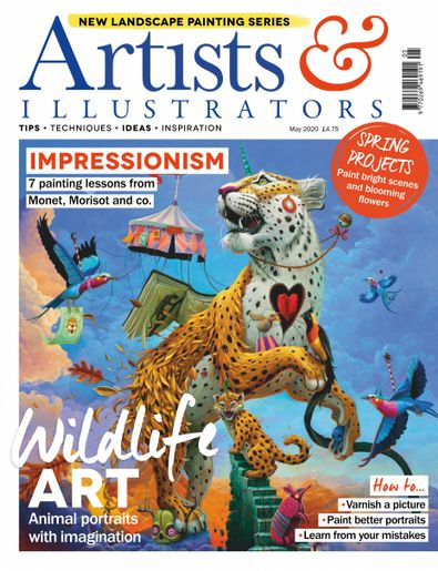 Artists & Illustrators digital cover
