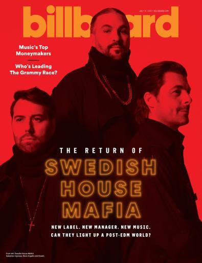 Billboard Magazine digital cover