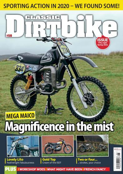 Classic Dirt Bike digital cover