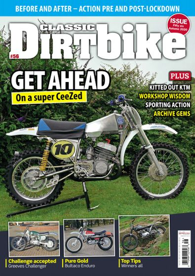 Classic Dirt Bike digital cover