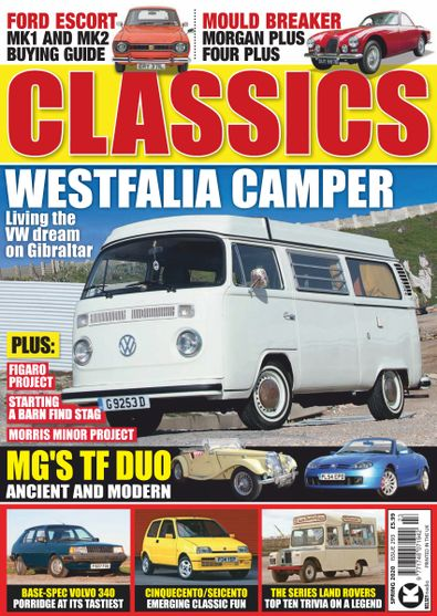 Classics Monthly digital cover