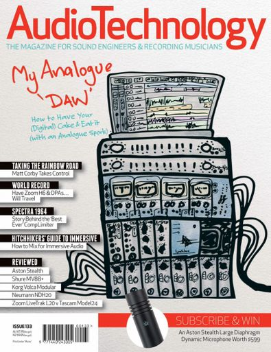 Audio Technology digital cover
