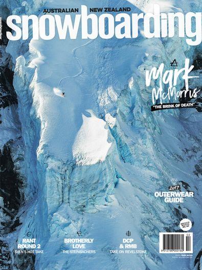 Australian NZ Snowboarding digital cover