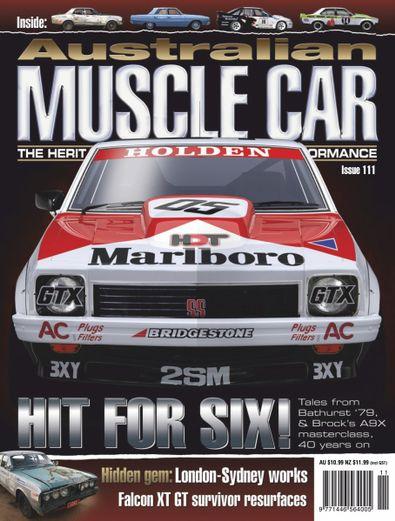 Australian Muscle Car digital cover