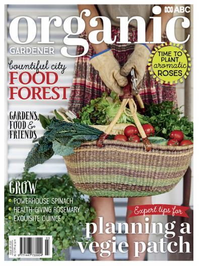 ABC Organic Gardener Magazine digital cover