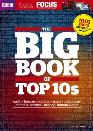 BBC Focus Magazine presents The Big Book of Top 10 digital cover