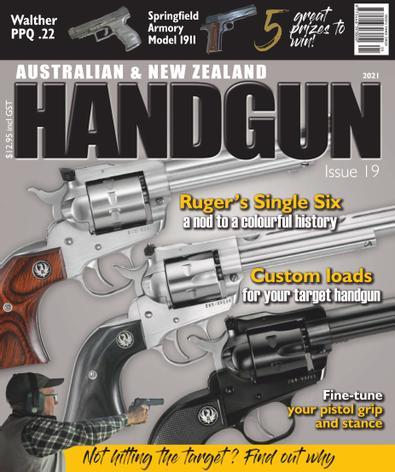 Australian & New Zealand Handgun digital cover