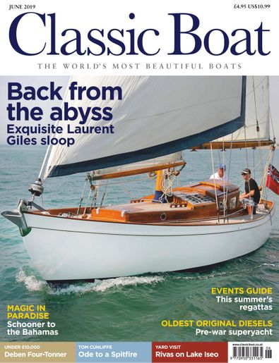 Classic Boat digital cover