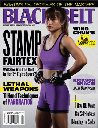 Black Belt Magazine digital cover