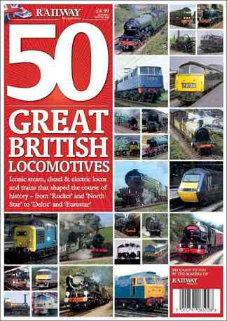 50 Great British Locomotives digital cover