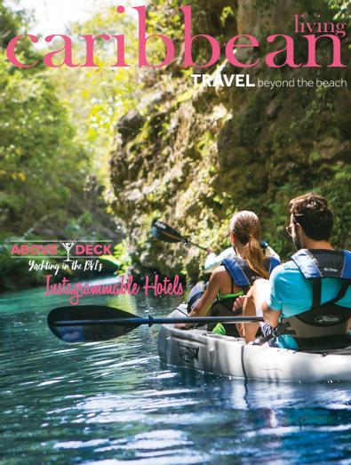Caribbean Living digital cover