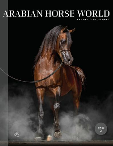 Arabian Horse World digital cover