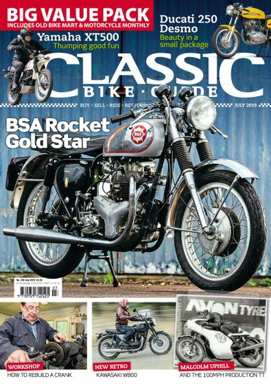 Classic Bike Guide digital cover