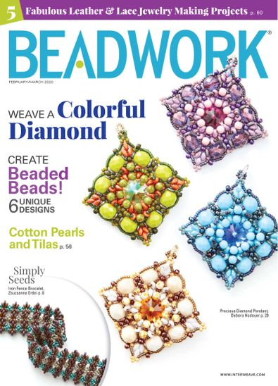Beadwork digital cover