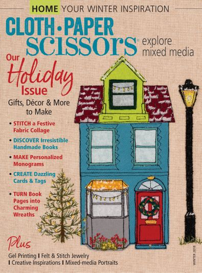Cloth Paper Scissors digital cover