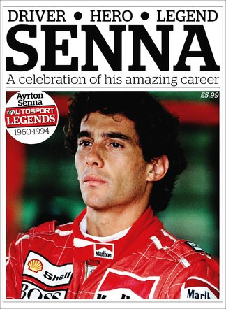 Autosport Legends:Ayrton Senna digital cover