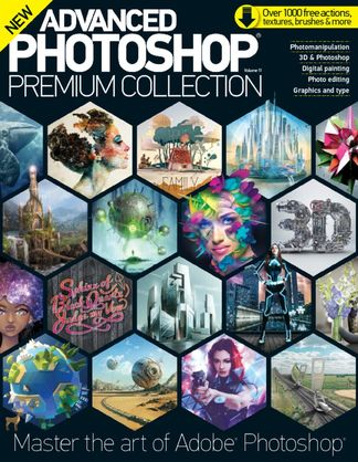 Advanced Photoshop: The Premium Collection digital cover