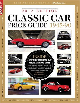 Classic Car Price Guide 2012 digital cover
