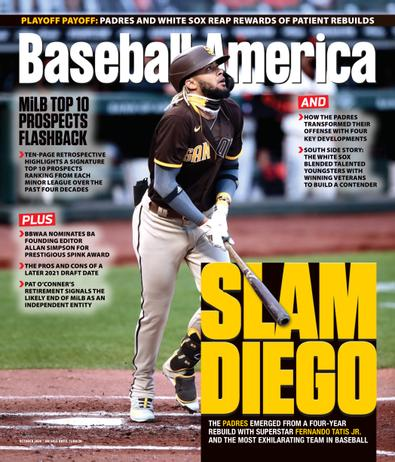 Baseball America digital cover