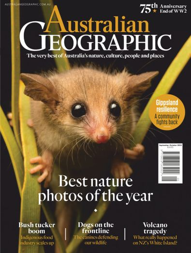 Australian Geographic digital cover