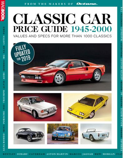 Classic Car Price Guide digital cover