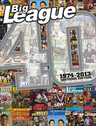 Big League magazine - 40 years special digital cover