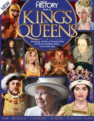 All About History Book of Kings & Queens digital cover
