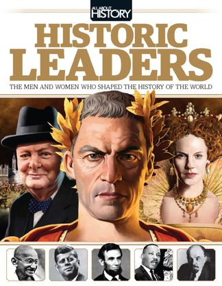 All About History Book of Historic Leaders digital cover