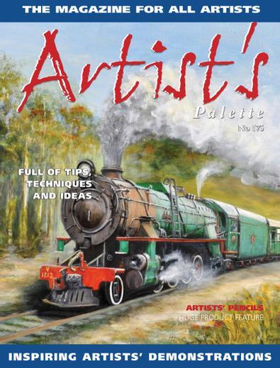 Artist's Palette digital cover
