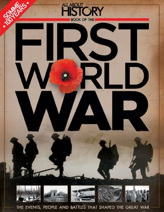 All About History Book Of The First World War digital cover